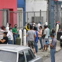Venta de tanques de oxígeno disminuye en Guayaquil