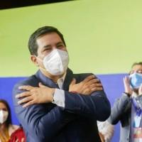 'Hoy no es el final es el recomienzo de una nueva etapa', Arauz
