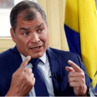 """Expresidente Rafael Correa: """"Creo que en el 2025 podemos ganar las elecciones"""""""