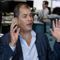 Expresidente Rafael Correa reconoció triunfo de Guillermo Lasso y le deseó suerte e su Gobierno